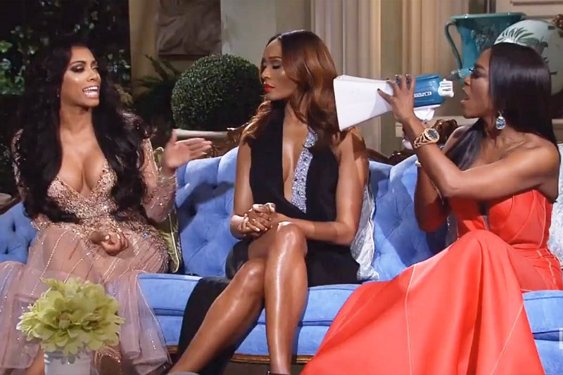 Kenya Moore Brags She'll Return and Porsha Williams Gets Fired After 'RHoA' Reunion Brawl