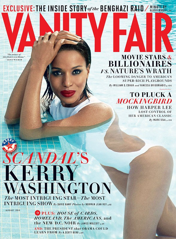 Kerry Washington Develops Skill in Acting as Teen Safe-Sex Educator