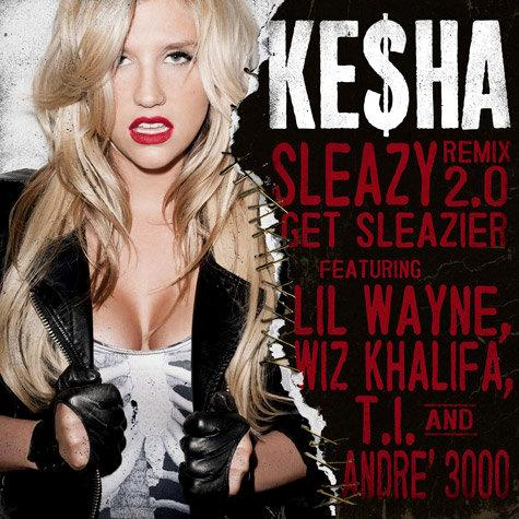 Audio Stream: Ke$ha's 'Sleazy' Ft. Wiz Khalifa, Andre 3000, T.I. and Lil Wayne