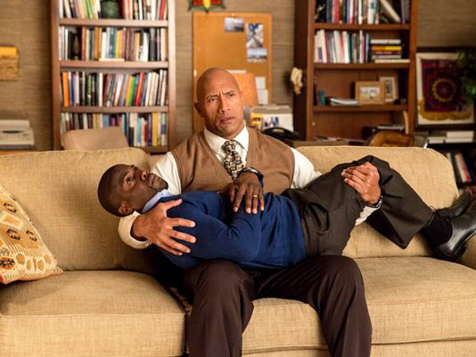 First Official Look at Kevin Hart and Dwayne Johnson in 'Central Intelligence' Revealed