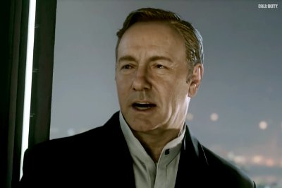 Kevin Spacey Is Power Hungry in 'Call of Duty: Advanced Warfare' Trailer