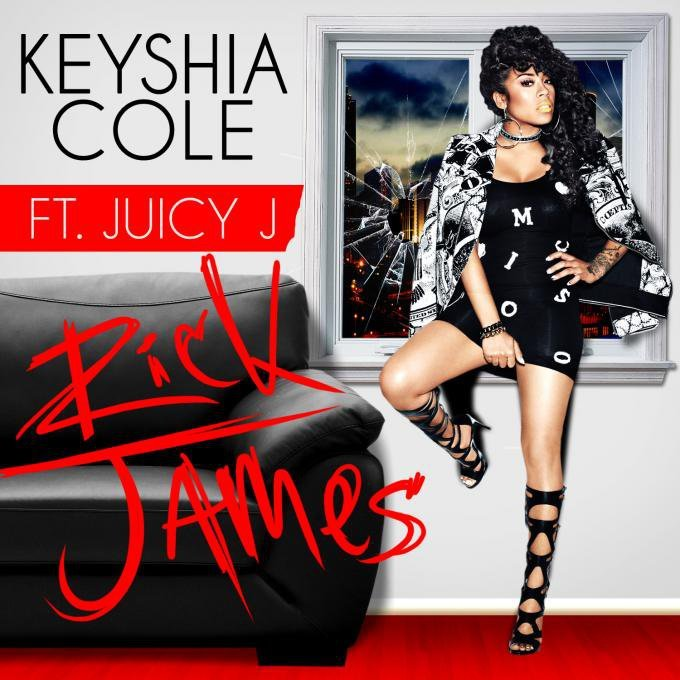 Keyshia Cole Premieres New Single 'Rick James' Ft. Juicy J