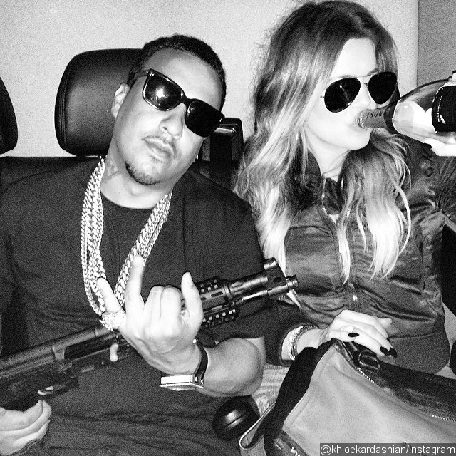 Khloe Kardashian Angered Fans for Posting Machine Gun Pic