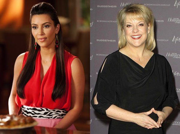 Kim Kardashian and Nancy Grace Head Back to 'Drop Dead Diva'