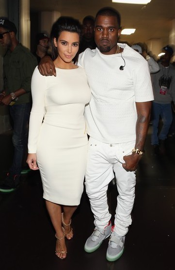 Kim Kardashian Approves Kanye West's Love Declaration at 2012 BET Awards