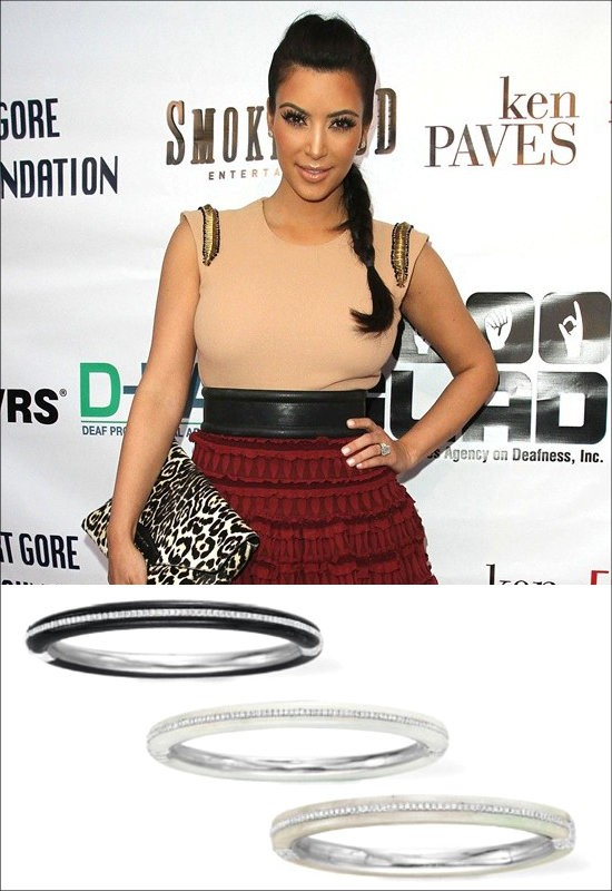 Kim Kardashian Splurges on Elizabeth Taylor's Bracelets at Auction