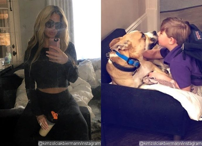 Kim Zolciak Decides to Keep the Dog That Bit Her Son. Why?