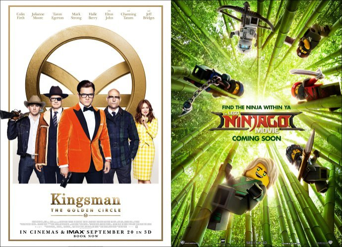 'Kingsman: The Golden Circle' Dethrones 'It' on Box Office, 'Lego Ninjago' Misses the Target