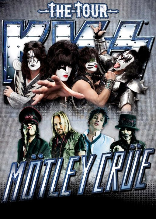 KISS and Motley Crue Reunite for a Tour Because They're Sick of Karaoke Shows