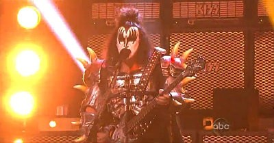 Video: KISS Set 'Dancing with the Stars' Ablaze With 'Rock and Roll All Nite'
