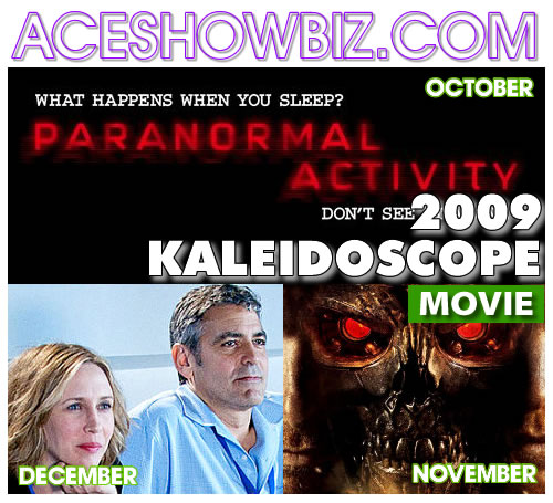 Kaleidoscope 2009: Important Movie Events (Part 4/4)