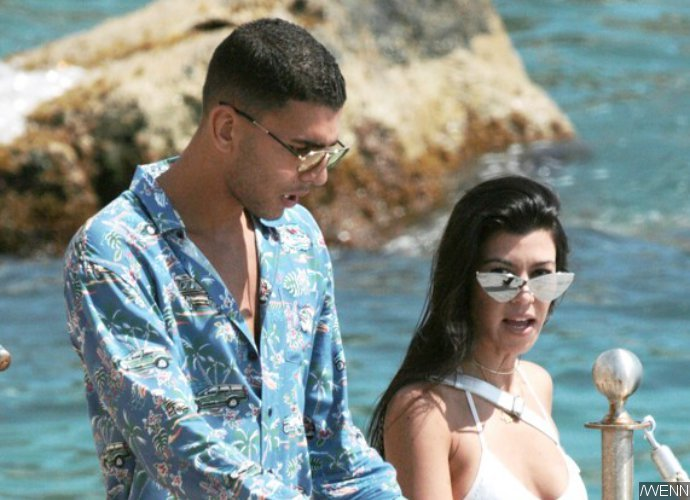 Kourtney Kardashian Flaunts Beach Body in Skimpy Bikini on Egyptian Vacay With Younes Bendjima