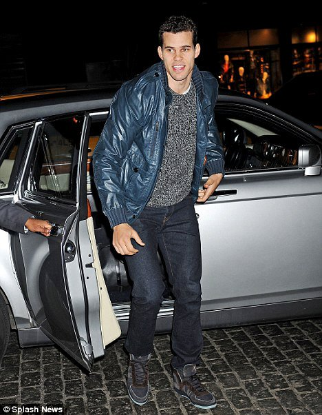 Kris Humphries Goes Casual When Celebrating 27th Birthday in New York