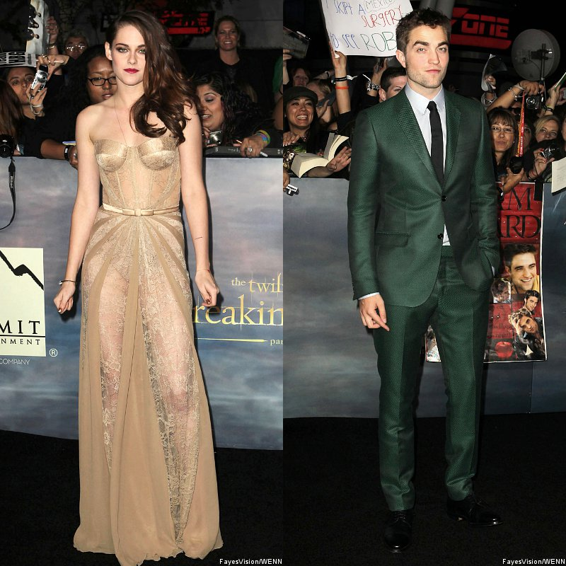 Kristen Stewart and Robert Pattinson Inseparable at 'Breaking Dawn II' L.A. Premiere