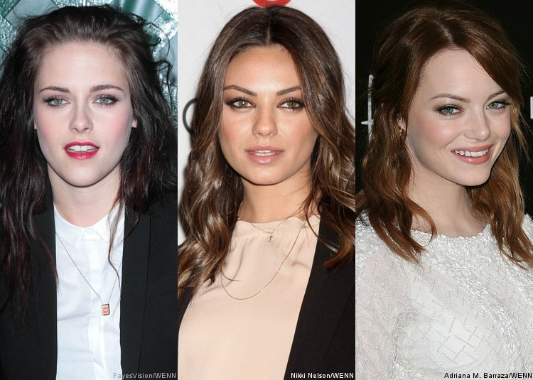 Kristen Stewart, Mila Kunis, Emma Stone Slated as Presenters at MTV Movie Awards 2012