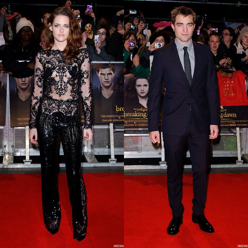 Kristen Stewart Gets Sexy, Robert Pattinson Keeps It Classy at 'Breaking Dawn II' U.K. Premiere