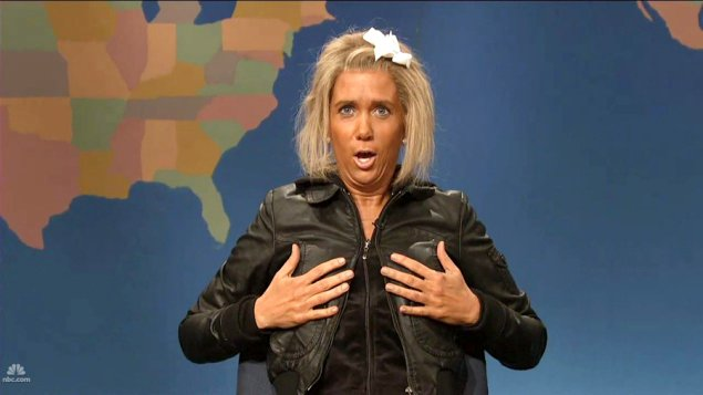 Video: Kristen Wiig Mocks 'Tanning Mom' in 'SNL' Sketch