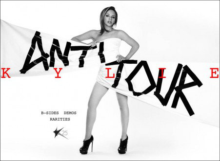 Kylie Minogue Announces First Dates for Anti Tour