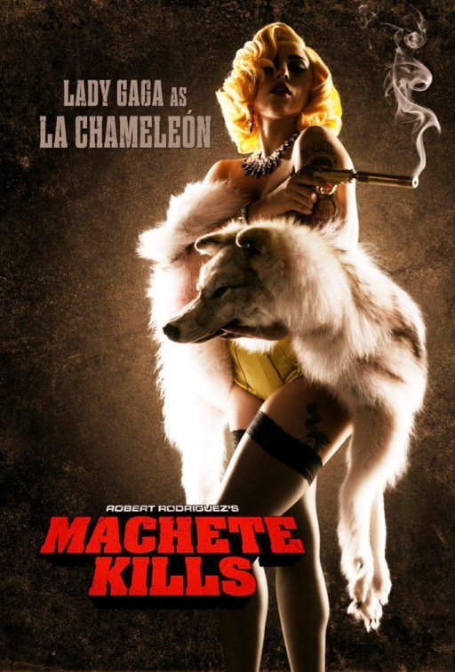 Lady GaGa Makes Acting Debut in 'Machete Kills', Gets Official Character Poster