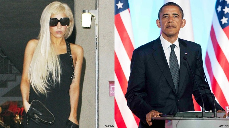 Lady GaGa Not Toning Down at Obama Fundraiser Event