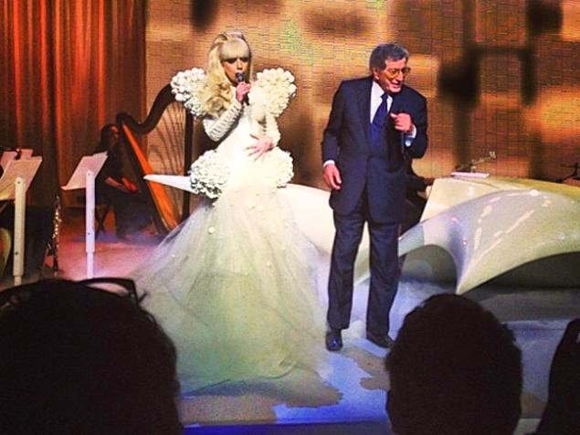 Video: Lady GaGa Rocks Obama's Inaugural Ball With Tony Bennett