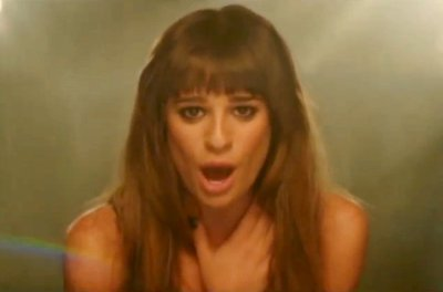 Lea Michele Previews 'Cannonball' Music Video