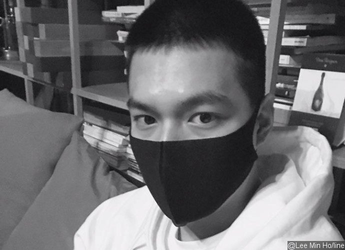 Lee Min Ho Shares New Photos With Buzz Cut as He Enters Military Training Center