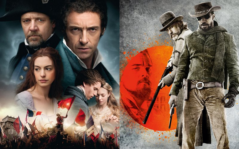 'Les Miserables' and 'Django Unchained' Lead Christmas Box Office