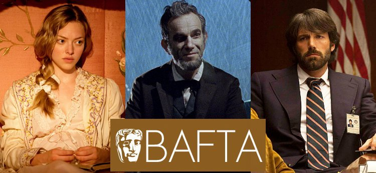 'Les Miserables', 'Lincoln', 'Argo' Dominate 2013 BAFTA Film Awards Nominations