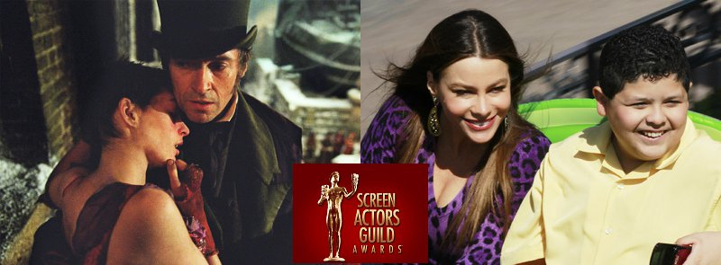 'Les Miserables', 'Modern Family' Lead 2012 SAG Awards Nominations