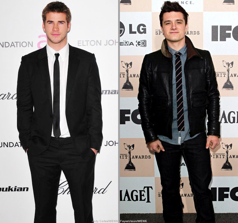 Liam Hemsworth and Josh Hutcherson Closer to 'The Hunger Games'
