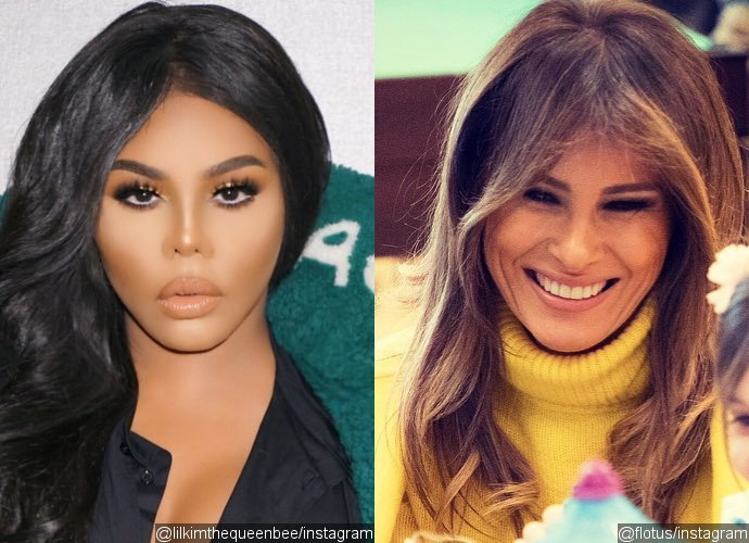Lil Kim Admits She Looks Like Melania Trump After Plastic
