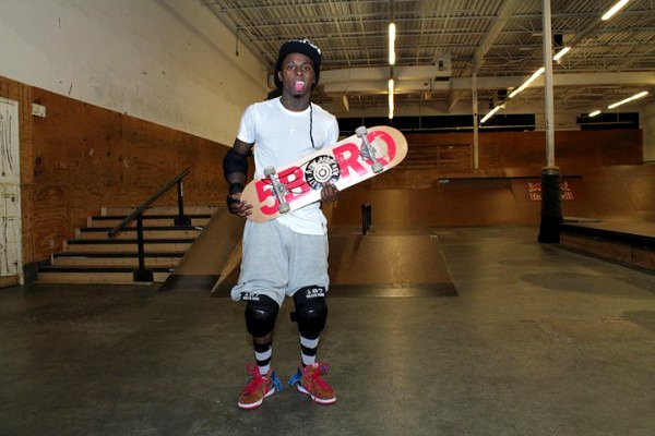 Lil Wayne to Take a Break From Rapping to Focus on Skateboarding