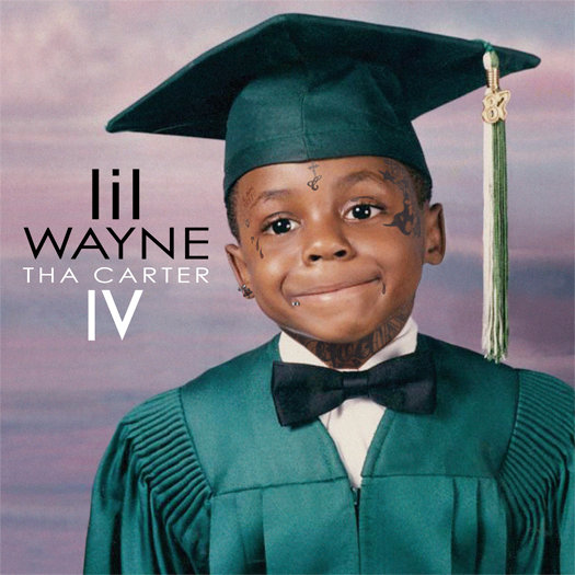 Lil Wayne Wears Graduation Gown in 'Tha Carter IV' Cover Art