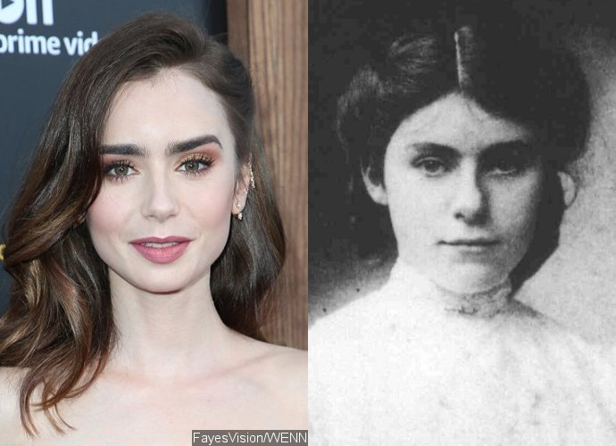 Lily Collins to Play J.R.R. Tolkien's Wife in Biopic