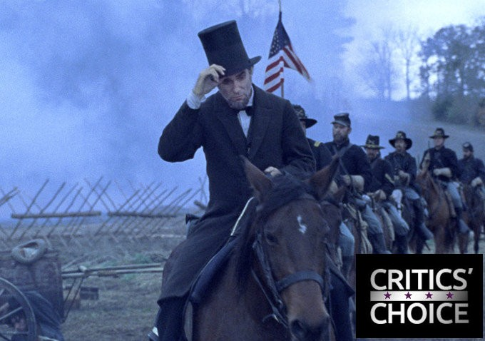 'Lincoln' Breaks Record With 13 Nominations at 2013 Critics' Choice Movie Awards