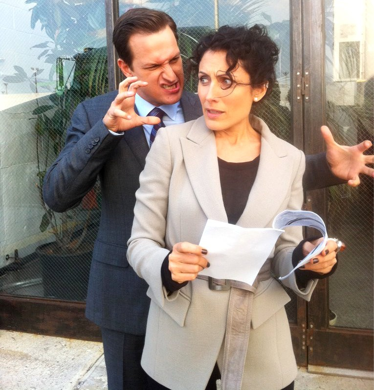 First Look at Lisa Edelstein on 'The Good Wife'