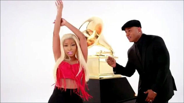 LL Cool J Can't Keep Up With Nicki Minaj in New Promo for Grammy Awards