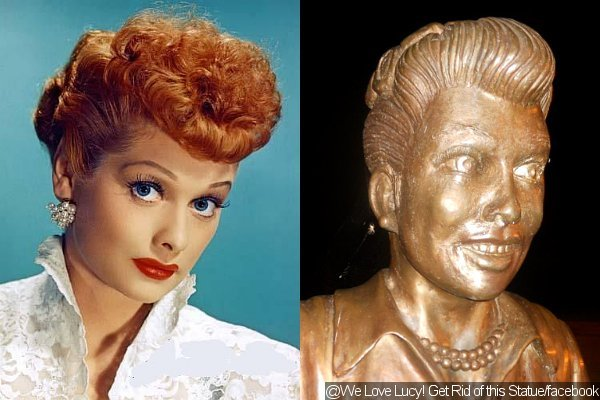 Lucille Ball Fans Want Her Frightening Statue To Be Removed