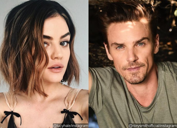 New Boyfriend? Lucy Hale Spotted Kissing 'Life Sentence' Co-Star Riley Smith on Valentine's Day