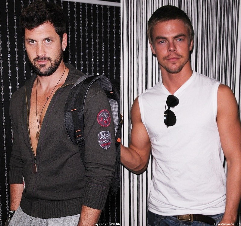 Report: Maksim Chmerkovskiy and Derek Hough Share Mutual Feeling of Hatred