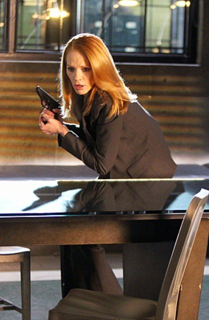 Marg Helgenberger Gets Tearful During 'CSI' Farewell Speech