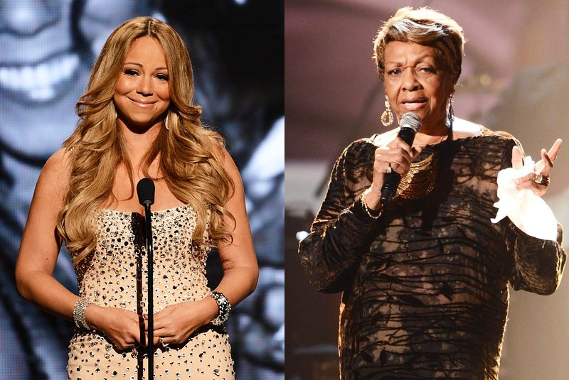 Video: Mariah Carey and Cissy Houston Pay Emotional Tribute to Whitney at 2012 BET Awards