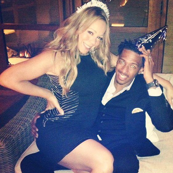 Mariah Carey Helps Nick Cannon Celebrate His Birthday