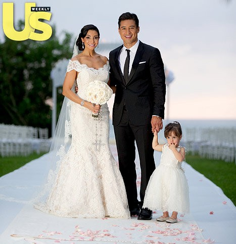 Mario Lopez's 2-Year-Old Daughter Had Mid-Aisle Meltdown at Wedding