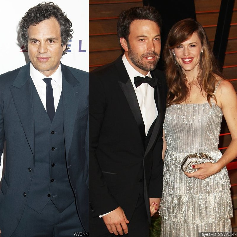 Mark Ruffalo Claims Ben Affleck Doesn't Allow Him to Be Friend With Jennifer Garner
