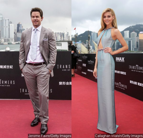 Mark Wahlberg and Nicola Peltz Attend 'Transformers: Age of Extinction' World Premiere