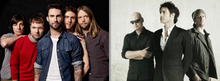 Maroon 5, Train and More Auction Concert Tickets for Charity