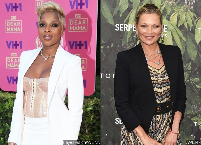 Mary J. Blige Sparks Gay Rumors With Kate Moss