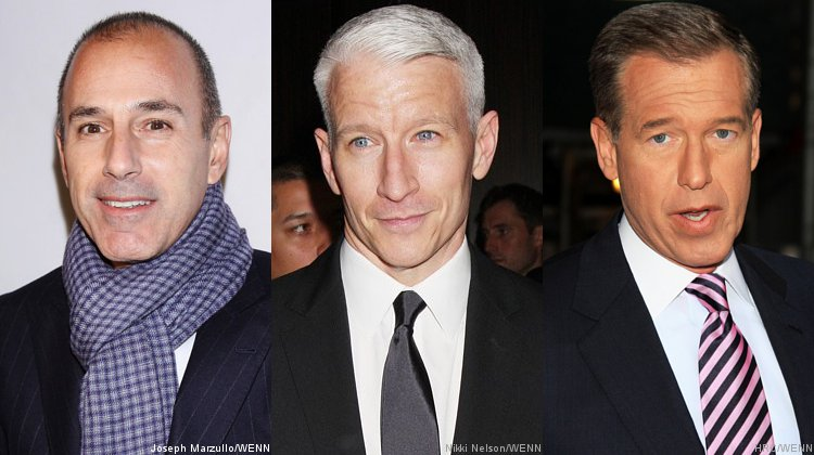 Matt Lauer, Anderson Cooper and Brian Williams Are Candidates to Host 'Jeopardy!'